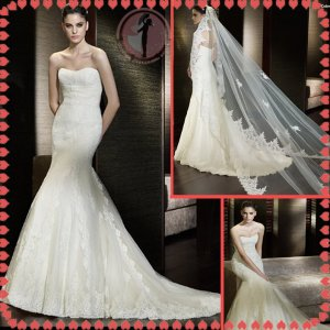 2012 new model bridal sexy wedding dress EC424