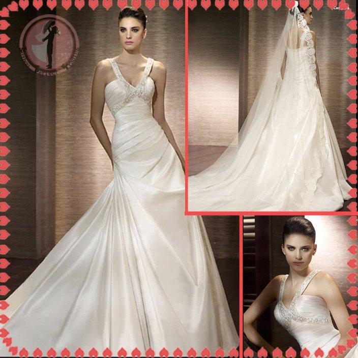 2012 new model bridal swarovski wedding dress EC427