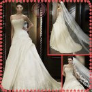 2012 new model bridal swarovski wedding dress EC429