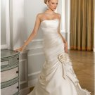 2012 new model low back mermaid wedding dress EC436