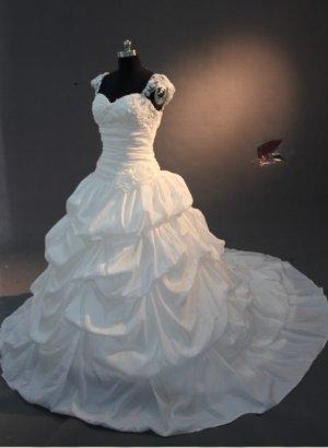 2013 new fashion stylish capsleeve designer wedding dresses EC465