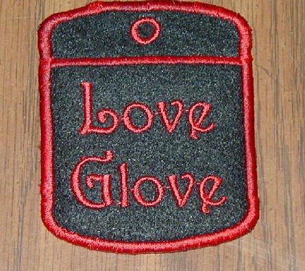 Love Glove Holder Keychain