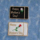Embroidered Mothers Day Gift or Business Card Holder