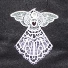 Swarovski Crystal Birthstone 3D Lace Angels