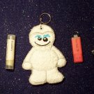 Abominable Snowman USB, Lipbalm or Breath Mint Holder Keychain