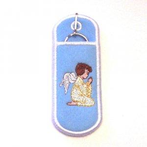 Praying Angel Lipbalm, USB, or Lighter holder keychain