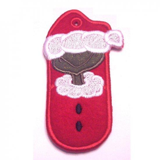 Christmas Lip Balm, USB, Lighter Holder Keychain, Zipperpull or Backpack Clip