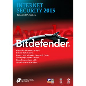 Bitdefender Internet Security 2013 - 3PC/2Year