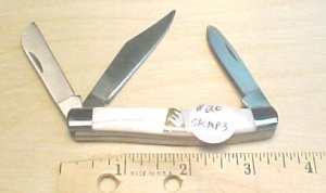 Maxam Pearl handle pocket knife  #89