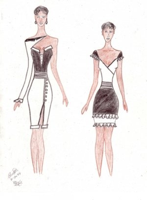 Renee Inc Fashion Art Sketch
