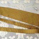 Vintage Golden Silk Tie Polish Komitet Olimpjski