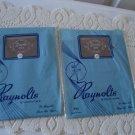 Vintage 2 Pairs Nylon Stockings Seamless 10 ½ Raynolts