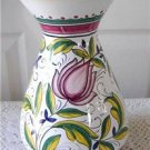 Vintage Hand-Painted Ricco Ars Deruta Majolica Vase