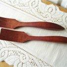 Vintage Baribocraft Wood Salad Serving  Fork/Spoon