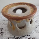 Vintage Laurentian Pottery Tundra Warmer Base 70s