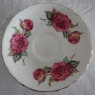 Vintage China Saucer Crown Staffordshire England B904