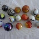 Vintage Lot of 16 Marbles Lot