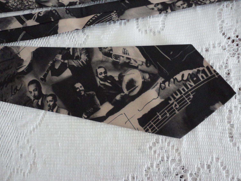 vintage Havana Nights Polyester Necktie Marc Olivier Modes