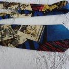 Vintage Restaurants Design Silk Necktie Serge Saint Yves