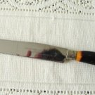 Vintage Moc Horn Bakelite Carving Knife Fullers
