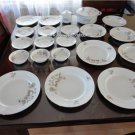 Vintage Johan of Haviland Sweetheart Rose China 23 Pcs Lot Excellent