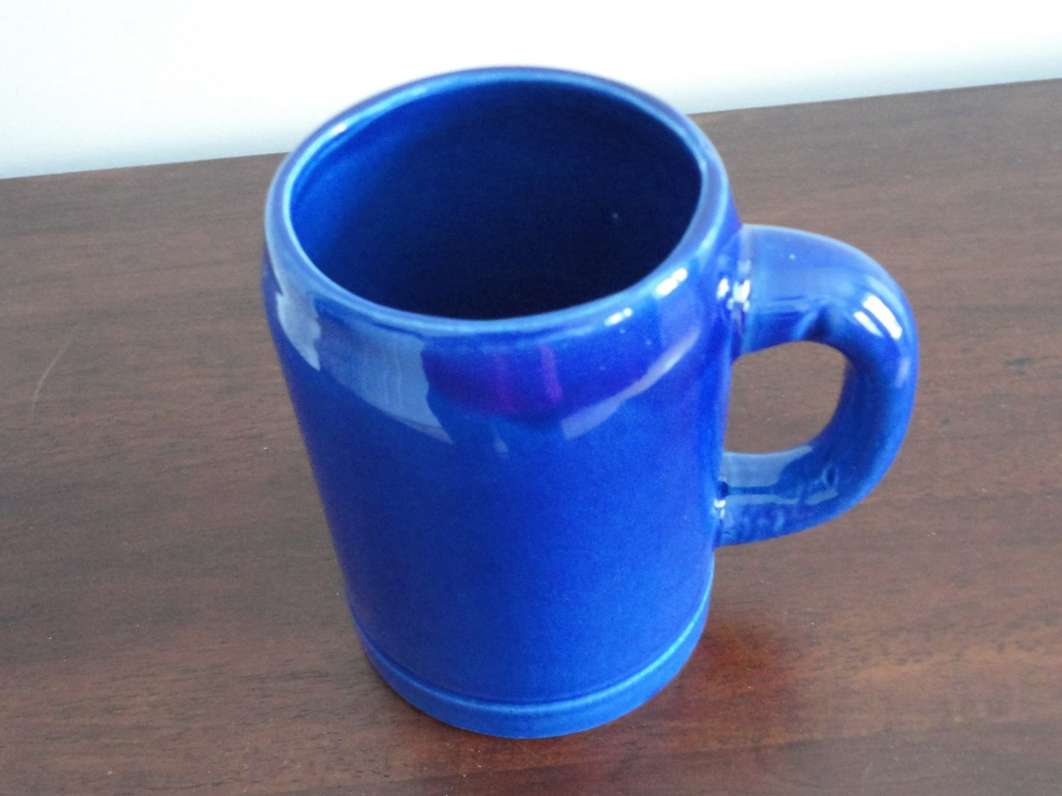 Royal Blue Beer Stein Staffel Germany Pottery
