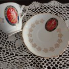 Royal Darwood China Saucer/Cup Upper Canada Village Souvenir