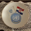 United Nations Souvenir Plate 1993