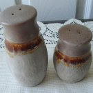 Vintage Laurentian Pottery Salt/Pepper Shakers TUNDRA