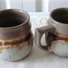 Vintage Laurentian Pottery 2 Cups TUNDRA