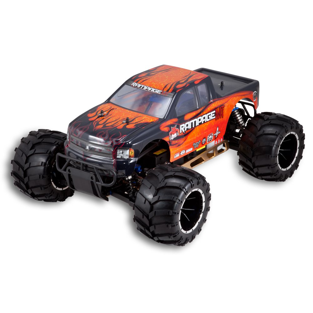 Redcat Rampage MT V3 Monster Truck - Orange/Flame (RAMPAGE-MT-V3-OF)