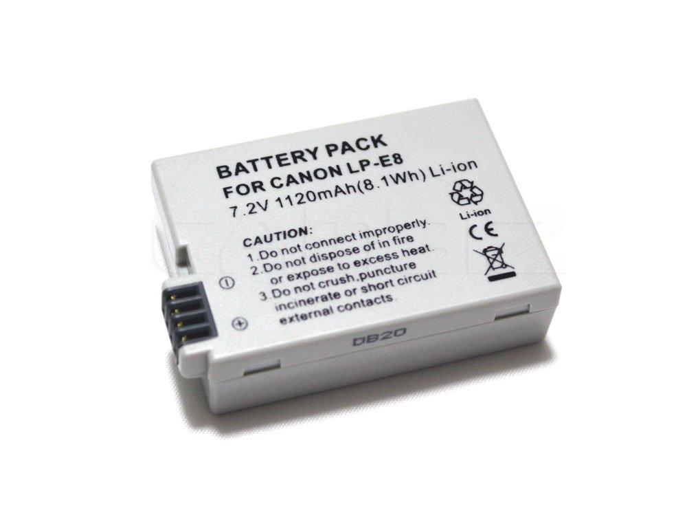 Canon LP-E8 DSLR Battery (1120mAh) for 550D, 600D