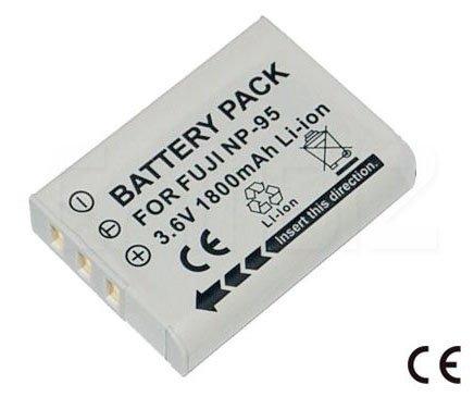 Fujifilm NP-95 Battery (1800mAh) for FinePix F30, F31 FD, X100