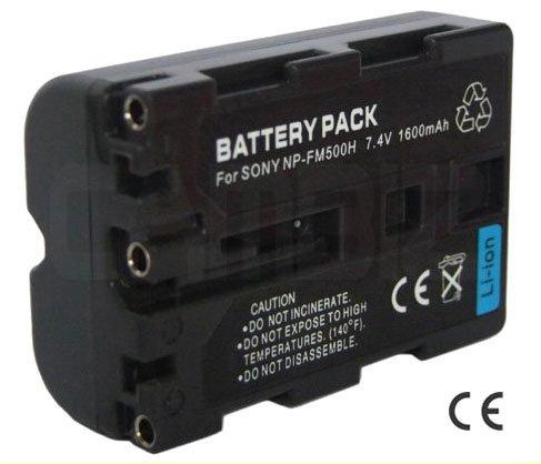 Sony NP-FM500H DSLR Battery (1600mAh)