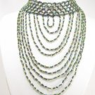 SN089 Elegant Cocktail Victorian Style Beads Necklace Best Gift Idea