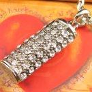 SN140 Elegant  Crystal Silver Pendant Necklace Best Gift Idea