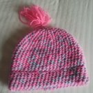 Pink & White Pom-Pom
