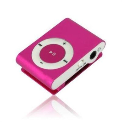 Red mini Clip MP3 Player