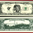 AR104 100 LIBERTY BILLION DOLLAR BILL!