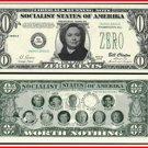 AR107 100 Hillary Zero Cents Bill