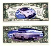 NM025 100 1964 PONTIAC GTO BILL
