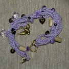 Violet Bracelet Crochet