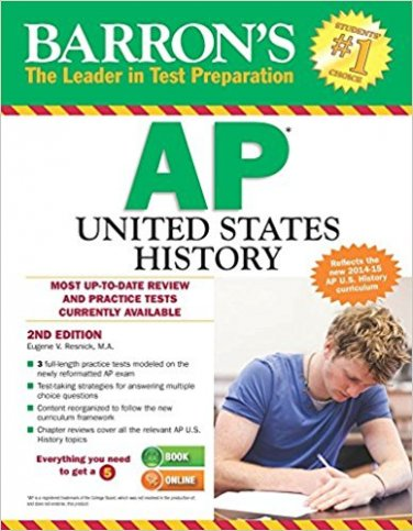 Barron's AP United States History, 2nd Edition