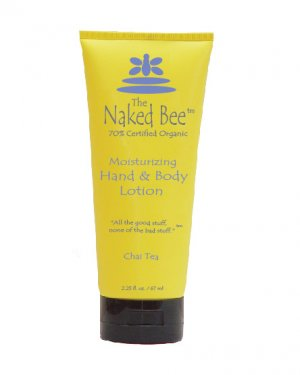 Naked Bee Hand & Body Lotion - Chai Tea