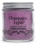 Champagne Lights Pheromone Candle - Pear Blossom Scent