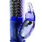 Jack Rabbit Waterproof Vibrator - Blue