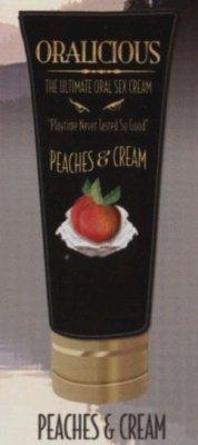 Oralicious Ultimate Oral Sex Cream - Peaches & Cream Flavor