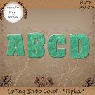 Spring Into Color- Alpha
