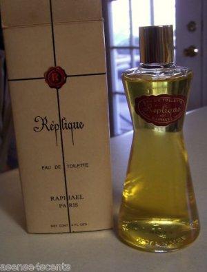 Vintage Raphael Replique Eau de Toilette-Large 4 oz