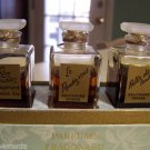 Vintage Fragonard Parfums-Boxed Set-Set of 3 Parfums